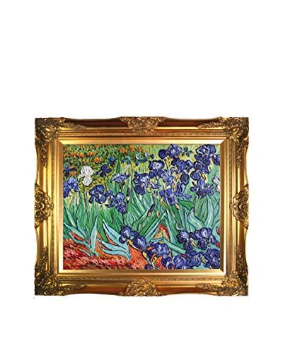 Vincent Van Gogh's Irises Framed Hand Painted Oil On Canvas
