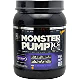 Cytosport Monster Pump NOS, approx 30 Servings - 21.02oz - Grape