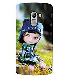 ColourCraft Cute Doll Design Back Case Cover for LENOVO VIBE K4 NOTE