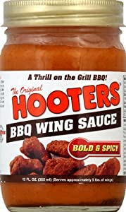 Hooters Wing Sauce Bbq Bold Spicy 12 Oz by Hooters