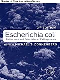 img - for Escherichia coli: Chapter 15. Type 3 secretion effectors book / textbook / text book