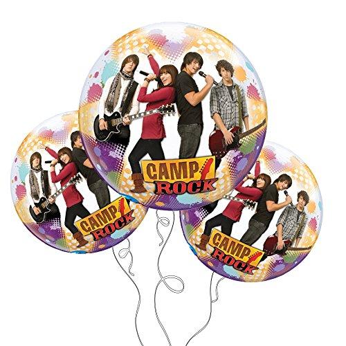 "Camp Rock Qualatex Bubble Balloon 22"" -3pk"