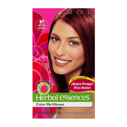 Clairol Herbal Essence Color, 047 Disco Inferno-deeply Intense Ruby (Pack of 3)