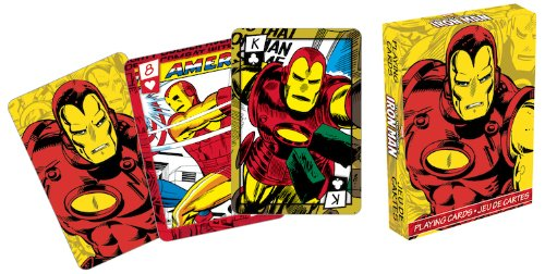 Marvel Iron Man Series 2 Comic Playing Cards
