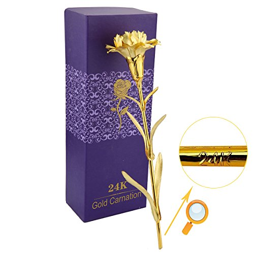 ranipobo-nelken-blumen-mutter-s-day-geschenk-24-k-vergoldet-dekoration-golden-blumen-love-forever-fu