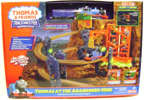 THOMAS AT THE ABANDONED MINE Train Set Trackmaster Exclusive Fisher Price 98936 New