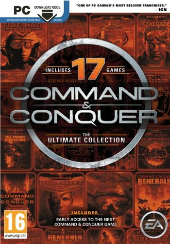 Command and Conquer: The Ultimate Edition Box with Download Code (PC)