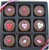 Gift Box of 9 Oreos Chocolate Valentines Day Assortment