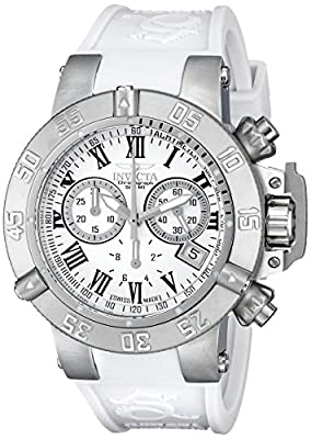 Invicta Women's 16882 Subaqua Analog Display Swiss Quartz White Watch