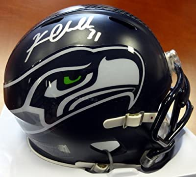 Kam Chancellor Autographed Seattle Seahawks Speed Mini Helmet Mcs Holo Stock #71567