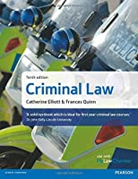 Criminal Law, 10th edition Front Cover
