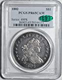 1802 Draped Bust Dollar PR65 PCGS