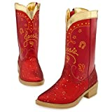 Disney Store Toy Story 3 Jessie Cowgirl Red Sparkle Boots 2 3