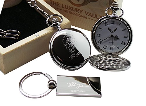 mike-tyson-pocket-watch-silver-plated-signed-autographed-in-wooden-gift-case-collectors-for-boxing-f