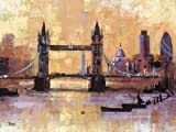 Colin Ruffell 60 x 80 cm Tower Bridge London Canvas