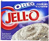 Jell-O Oreo Cookies and Creme Filling 119 g (Pack of 3)