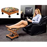 Footrest Adjustable Fold-A-Way Tapestry