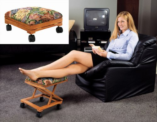 Footrest Adjustable Fold A Way Tapestry Ebay