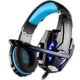 Rixow G9000 Pro Gaming Headset für PS4 und PC Blau