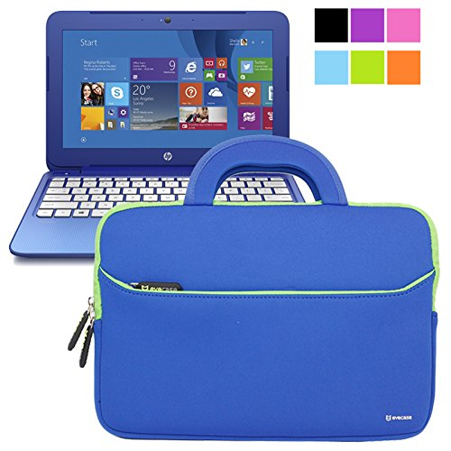 Buy Evecase HP Stream 11 UltraPortable Handle Carrying Portfolio Neoprene Sleeve Case Bag for HP Str...
