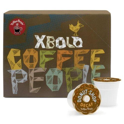 Coffee People Donut Shop Decaf Medium Roast, 22-Count K-Cups for Keurig Brewers