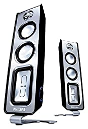 Philips MMS321 2.0 Channel Multimedia Speakers
