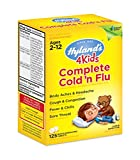 Hyland's 4 Kids Complete Cold and Flu Relief Medicine, 125 Count