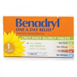 Benadryl Once Daily Allergy Relief Tablets - 10Mg - 7 Tablets