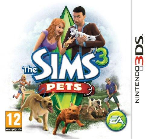 Sims 3 Pets (Nintendo 3DS)