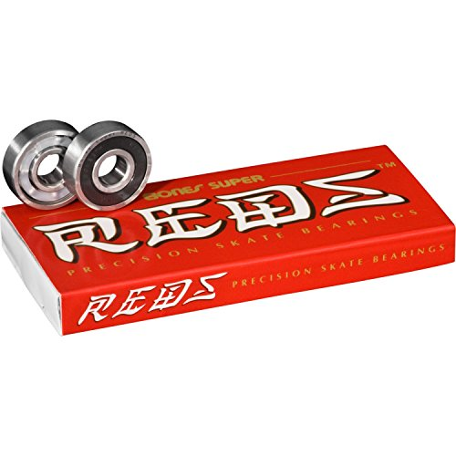 Bones Super Reds Precision Skate Bearings (Super Bones Reds compare prices)