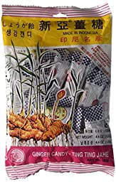 Ting Ting Jahe - Ginger Candy, 4.4 Ounce