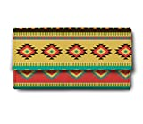 ShopMantra orange pattern Multicolor Ladies Wallet LW00000213
