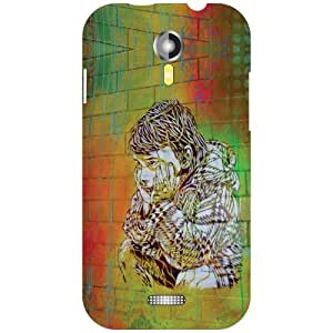 Micromax A117 Canvas Magnus Back Cover - Abstract Designer Cases