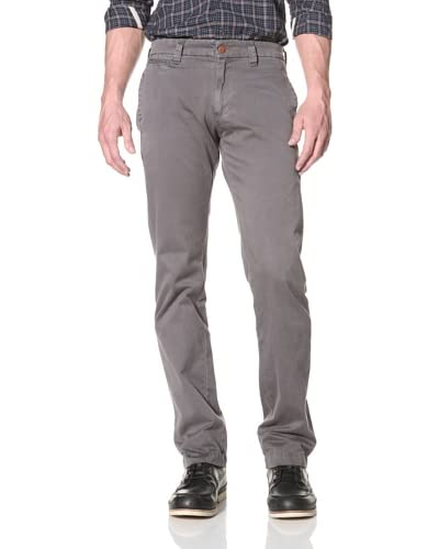 Agave Denim Men's Papillon Straight Leg Zip Fly Twill Chino