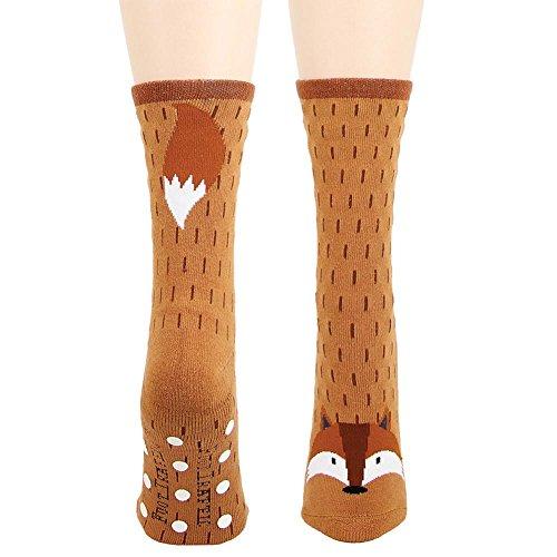 Fox Slipper Socks