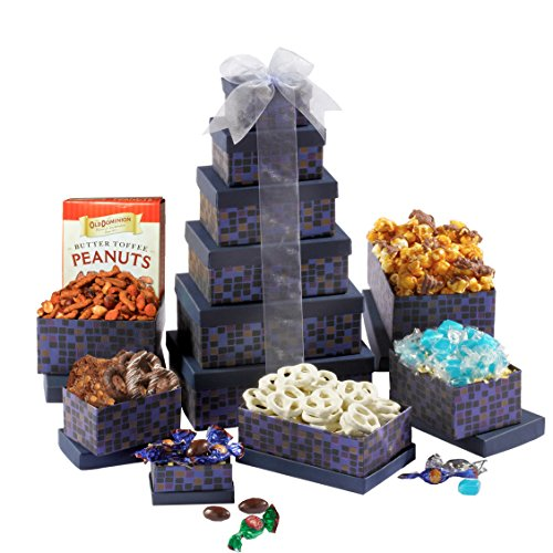 Broadway Basketeers Kosher Shiva Gift Tower - A Sympathy Gift (Shiva Gift Baskets compare prices)
