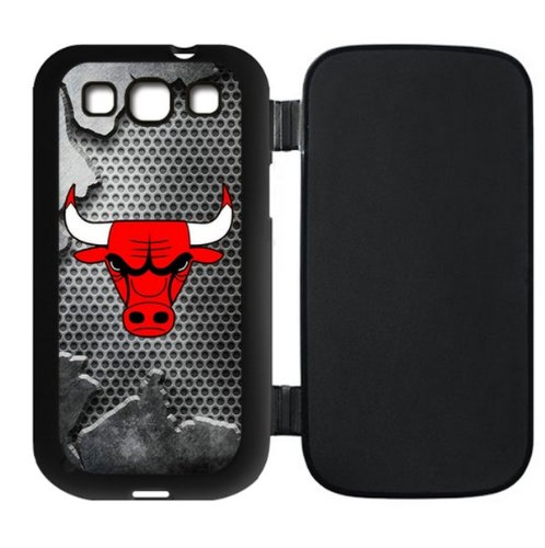 Brand New Samsung Galaxy SIII i9300 Flip Cover Case for Chicago Bulls Fans-by Allthingsbasketball at Amazon.com