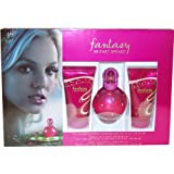 Britney Fantasy Set with Eau De Perfume Spray 30 ml, Body Souffle 50 ml and Shower Gel 50 ml