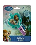 Disney Frozen Whistle With Attached Lanyard! Featuring Princess Elsa & Princess Anna! Perfect Stocking Stuffer For Your Disney Fan!