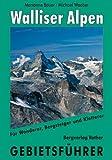 Walliser Alpen: Gebietsführer für Wanderer, Bergsteiger, Skitourengeher, Kletterer. Die beliebtesten Anstiege auf alle wichtigen Gipfel mit Beschreibung aller empfehlenswerten Skitouren
