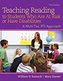 img - for Teaching Reading to Students Who Are At Risk or Have Disabilities: A Multi-Tier, RTI Approach,Enhanced Pearson eText -- Access Card (3rd Edition) book / textbook / text book
