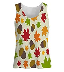 Snoogg Nuts Womens Tunic Casual Beach Fitness Vests Tank Tops Sleeveless T shirts