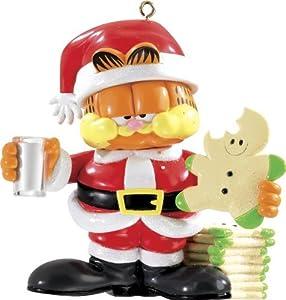 Carlton Heirloom Ornament 2013 Garfield - Milk and Cookies - #CXOR070D