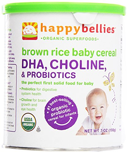 Happy Baby, Happy Bellies Organic Brown Rice Cereal, 7 oz - 1