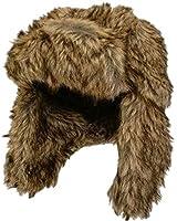 CrazyGadget® Faux Fur Winter TRAPPER HAT Warm Ski Crossack Mens Ladies Unisex Russian Style