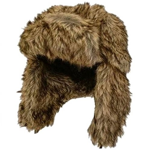 Crazygadget® Colbacco invernale pelliccia caldo sci Crossack Uomo Donna Unisex Stile Russo