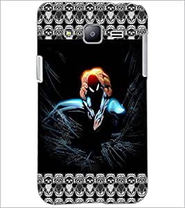 PrintDhaba Spider Man D-5695 Back Case Cover for SAMSUNG GALAXY J2 (Multi-Coloured)
