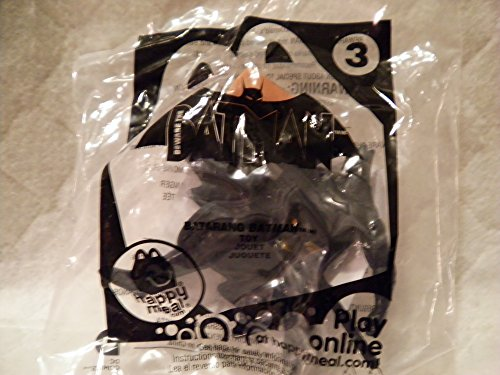 Mcdonald's Happy Meal 2013 Beware of Batman #3 Batarang Batman Figure - 1