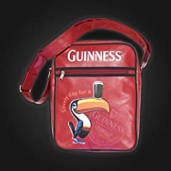 Guinness Toucan Red Shoulder Bag