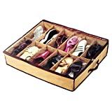 DFS's Premium Quality UNDER THE BED SHOE ORGANISER BOX for 12 Pairs. Shoe Rack.